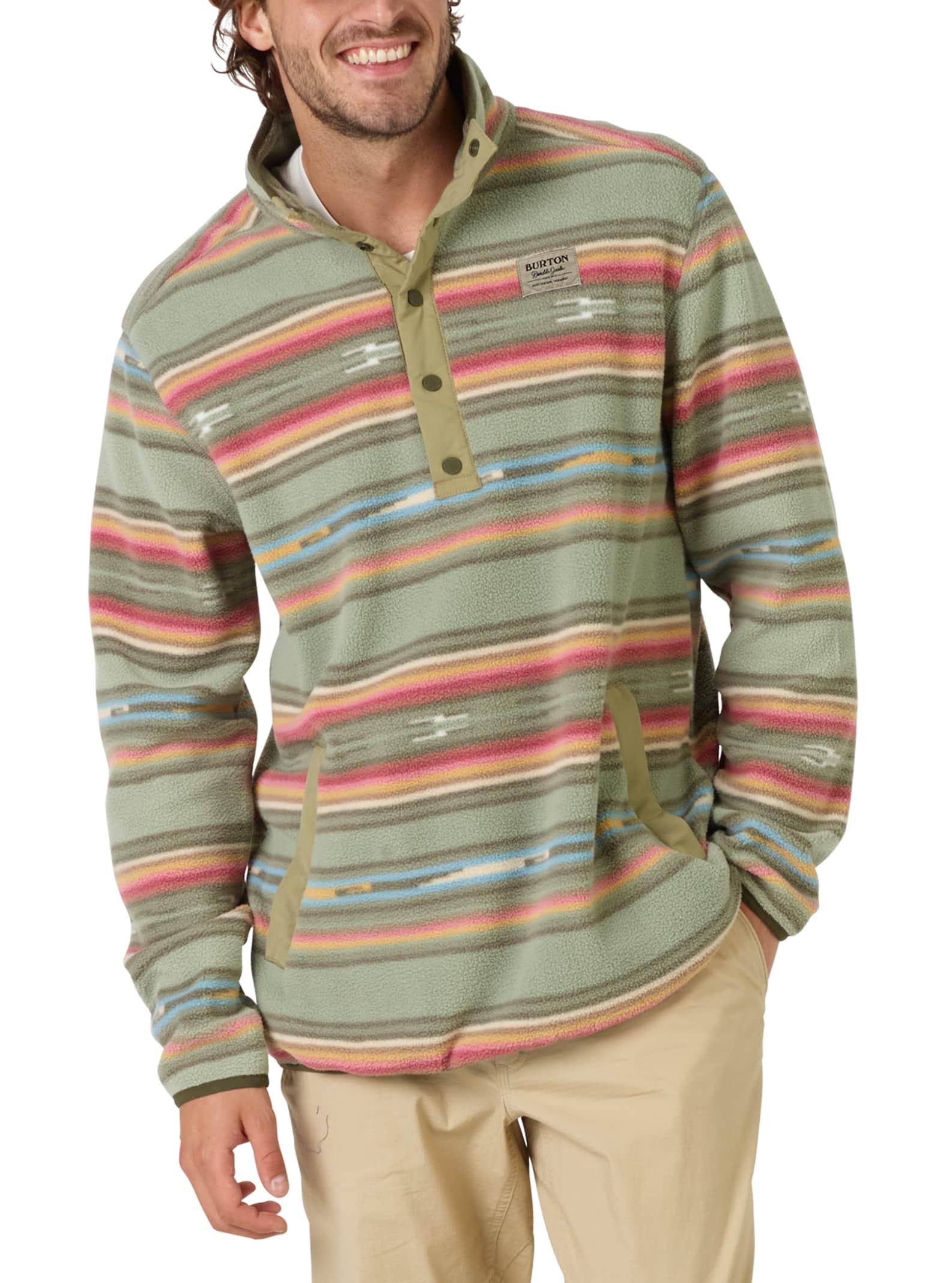 5b79a5d66f Men's Burton Hearth Fleece Pullover