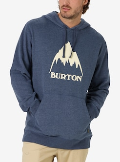 8e134a1f2 Men's Burton Classic Mountain High Pullover Hoodie shown in Mood Indigo  Heather