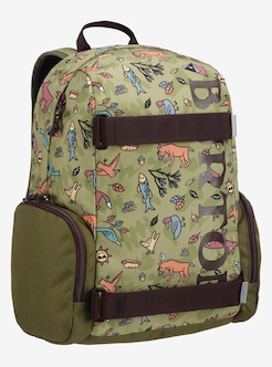 c2ba40627e Kids  Burton Emphasis 18L Backpack shown in Campsite Critters Print