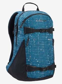 51aa0a827ba Burton Day Hiker 25L Backpack shown in Blue Sapphire Ripstop Texture Print