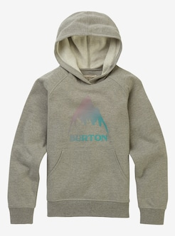 6c43e058c929 Girls  Burton Recycled Classic Mountain High Pullover Hoodie shown in Gray  Heather