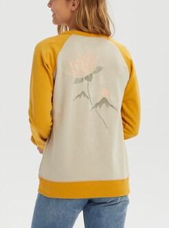 a3de5230fc Women s Burton Keeler Crew Sweatshirt shown in Pelican