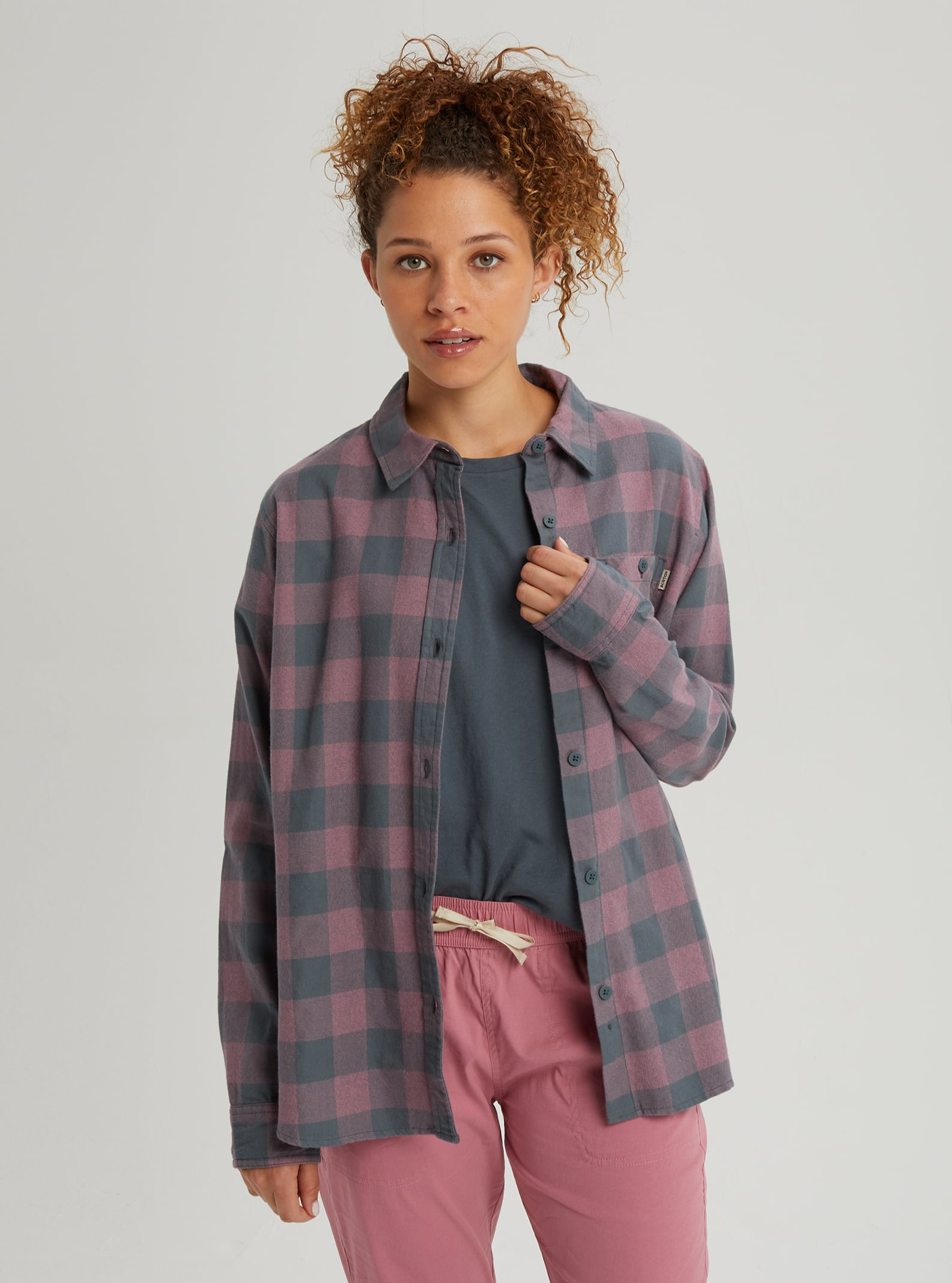 Burton Grace Tech Flannel Womens