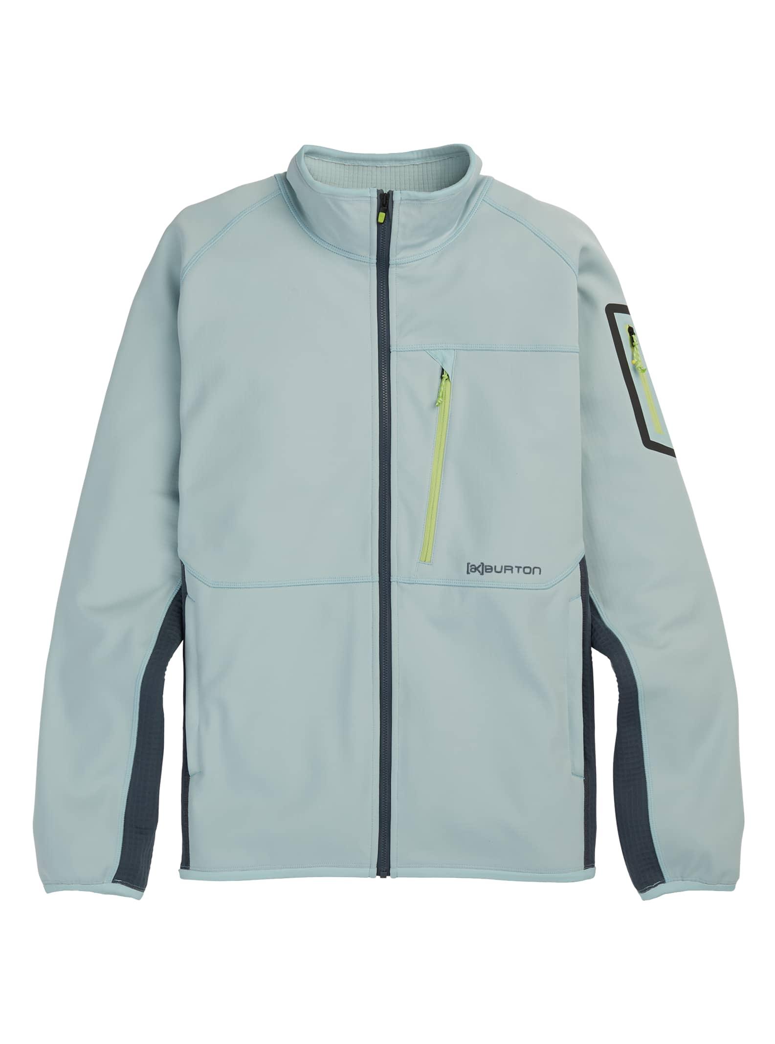 Burton [ak] Polartec® Grid fleece med blixtlås, XXS