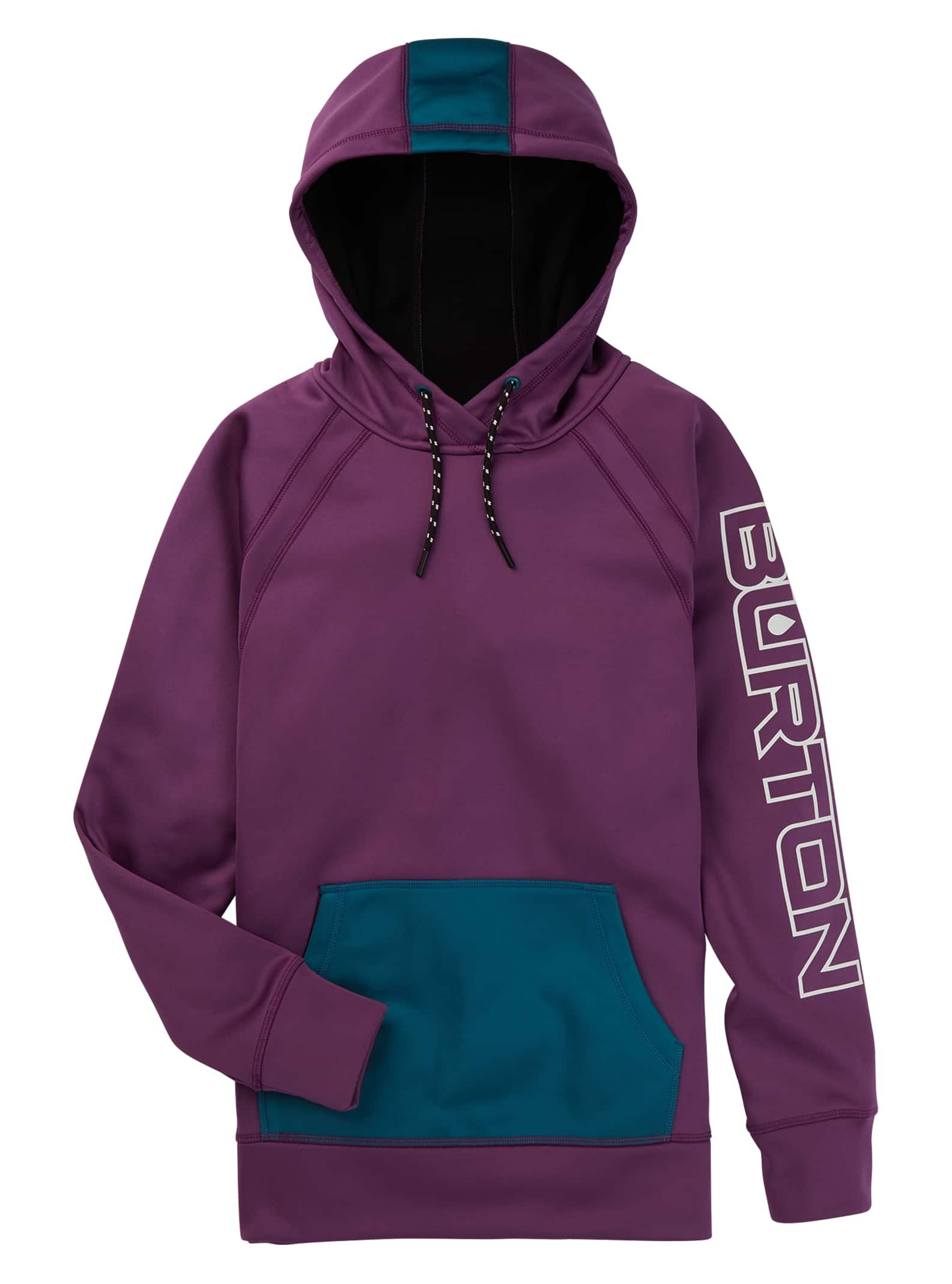 Burton Crown Bonded Solution-Dyed pulloverfleece för kvinnor, S
