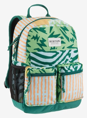 Kids' Burton Gromlet 15L Backpack shown in Iced Aqua Composite