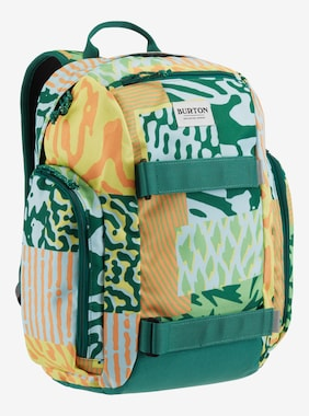 Kids' Burton Metalhead 18L Backpack shown in Iced Aqua Composite