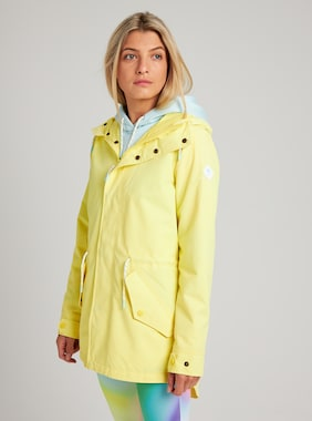 Women's Burton Sadie Jacket shown in Lemon Verbena