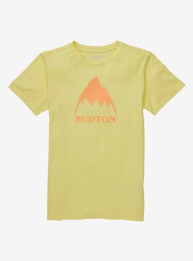 Kids' Burton Classic Mountain High Short Sleeve T-Shirt shown in Lemon Verbena
