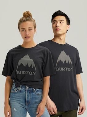 Burton Classic Mountain High Short Sleeve T-Shirt shown in True Black