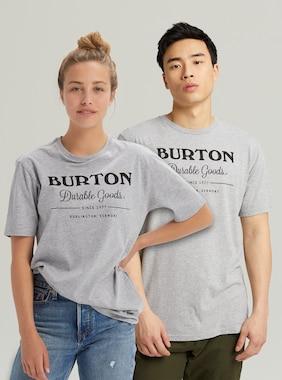 Burton デュラブル グッズ ショートスリーブ Tシャツ 画像のアイテムはGray Heather