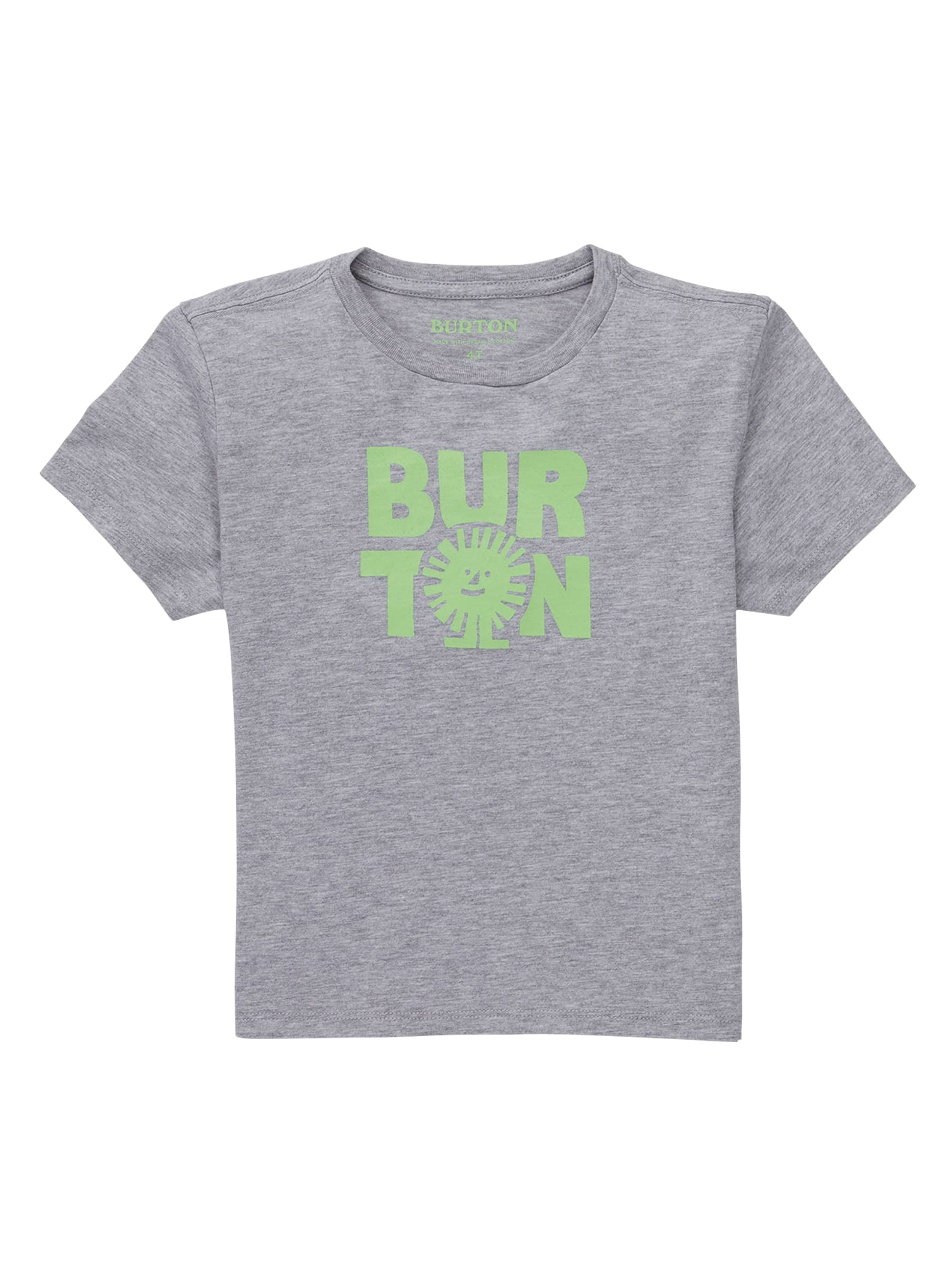 Burton kortärmad t-shirt för småbarn, 3T