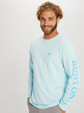 Burton エリート ロングスリーブ Tシャツ 画像のアイテムはIced Aqua