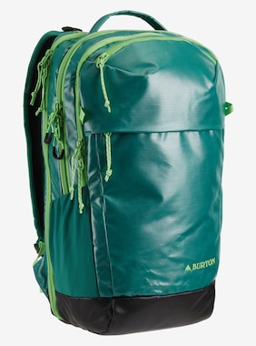 Burton Multipath 25L Backpack shown in Antique Green Coated