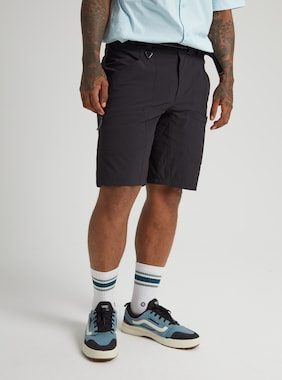 Men's Burton Multipath Shorts shown in True Black