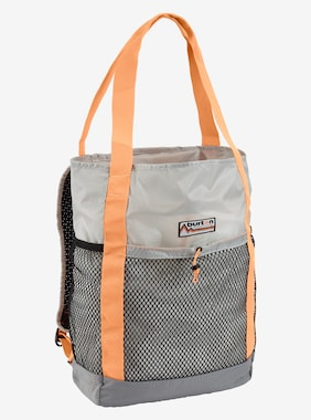 Burton 24L Packable Tote shown in Lunar Gray Ripstop