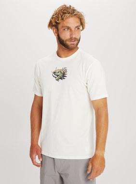 Men's Burton Garnet Short Sleeve T-Shirt shown in Stout White