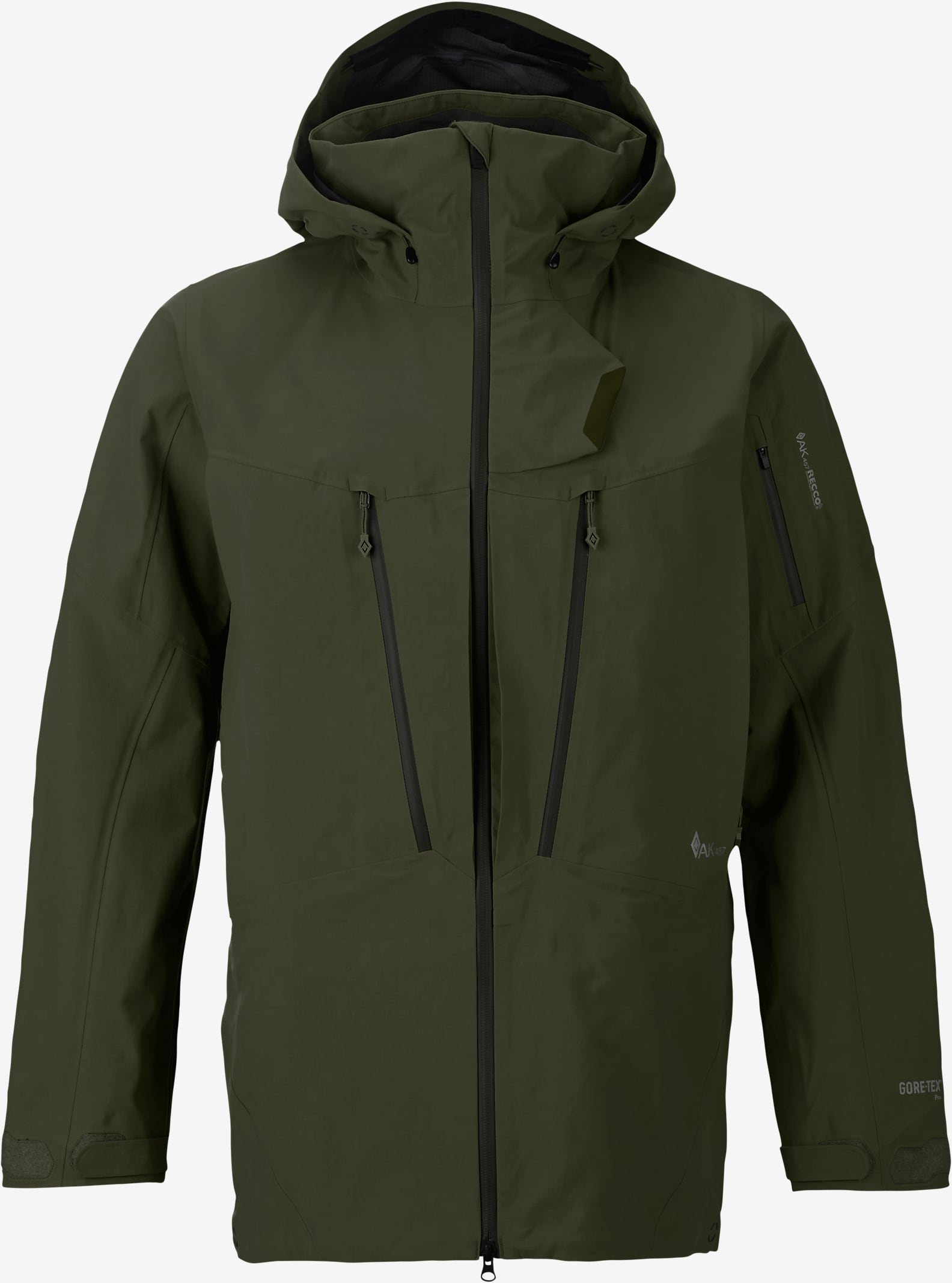Burton AK457 Guide Jacket shown in Olive