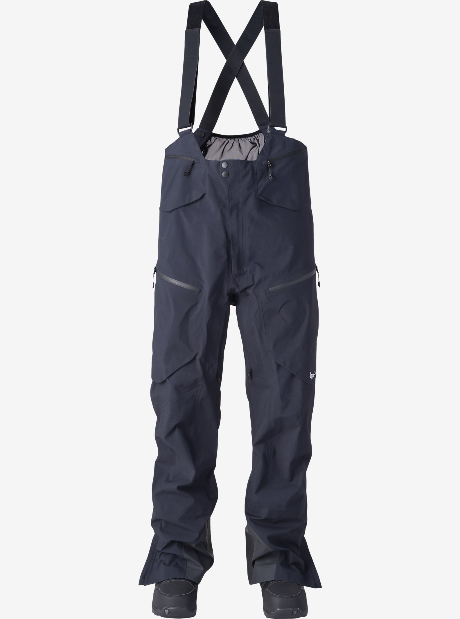 Burton AK457 Hi-Top Pant shown in True Black