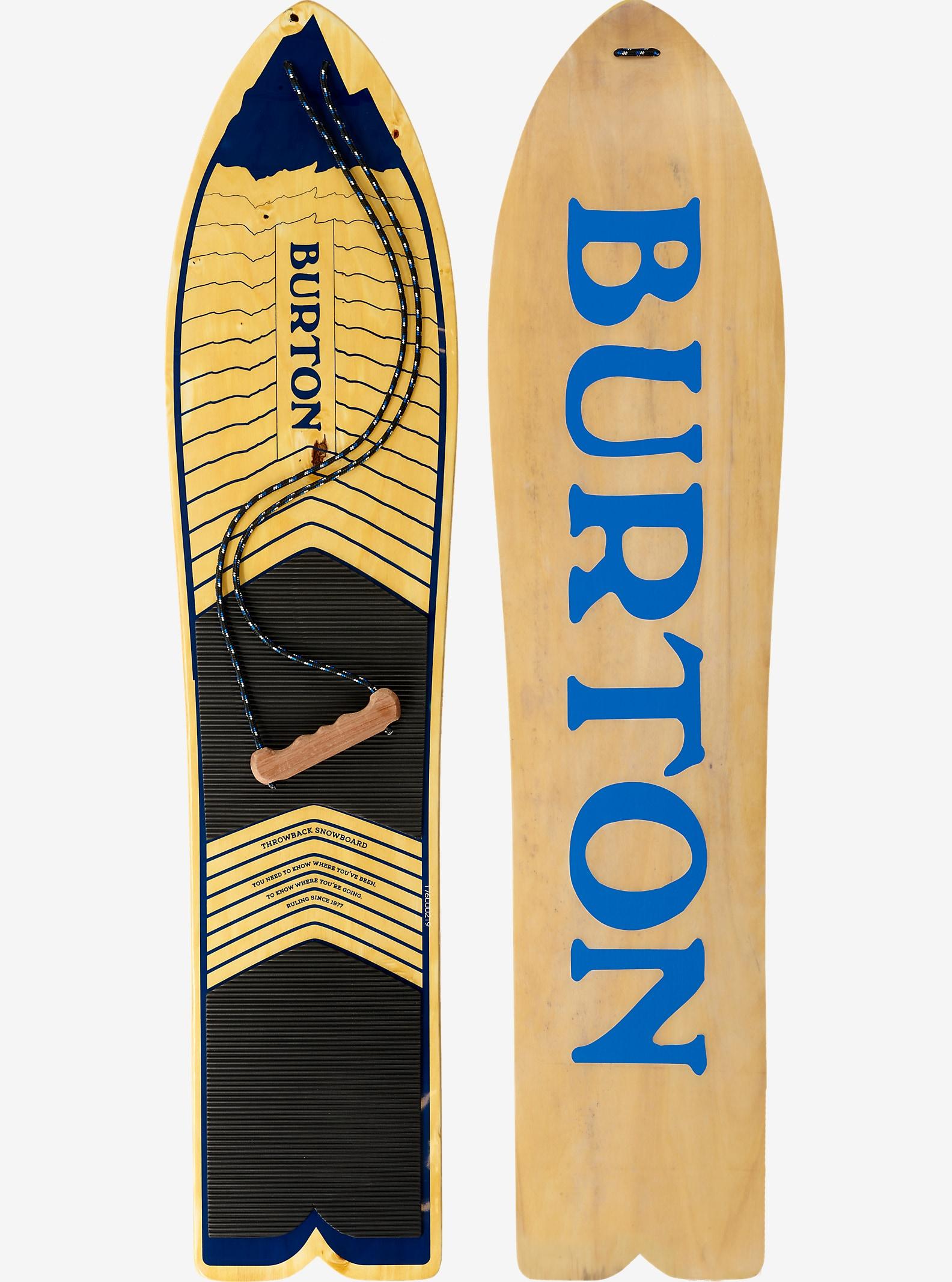Burton Throwback Snowboard shown in 130