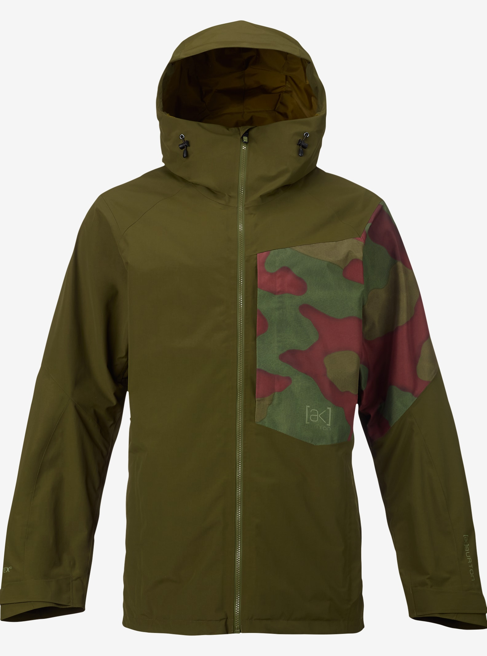 Burton [ak] 2L Boom Jacket shown in Jungle / Hombre Camo