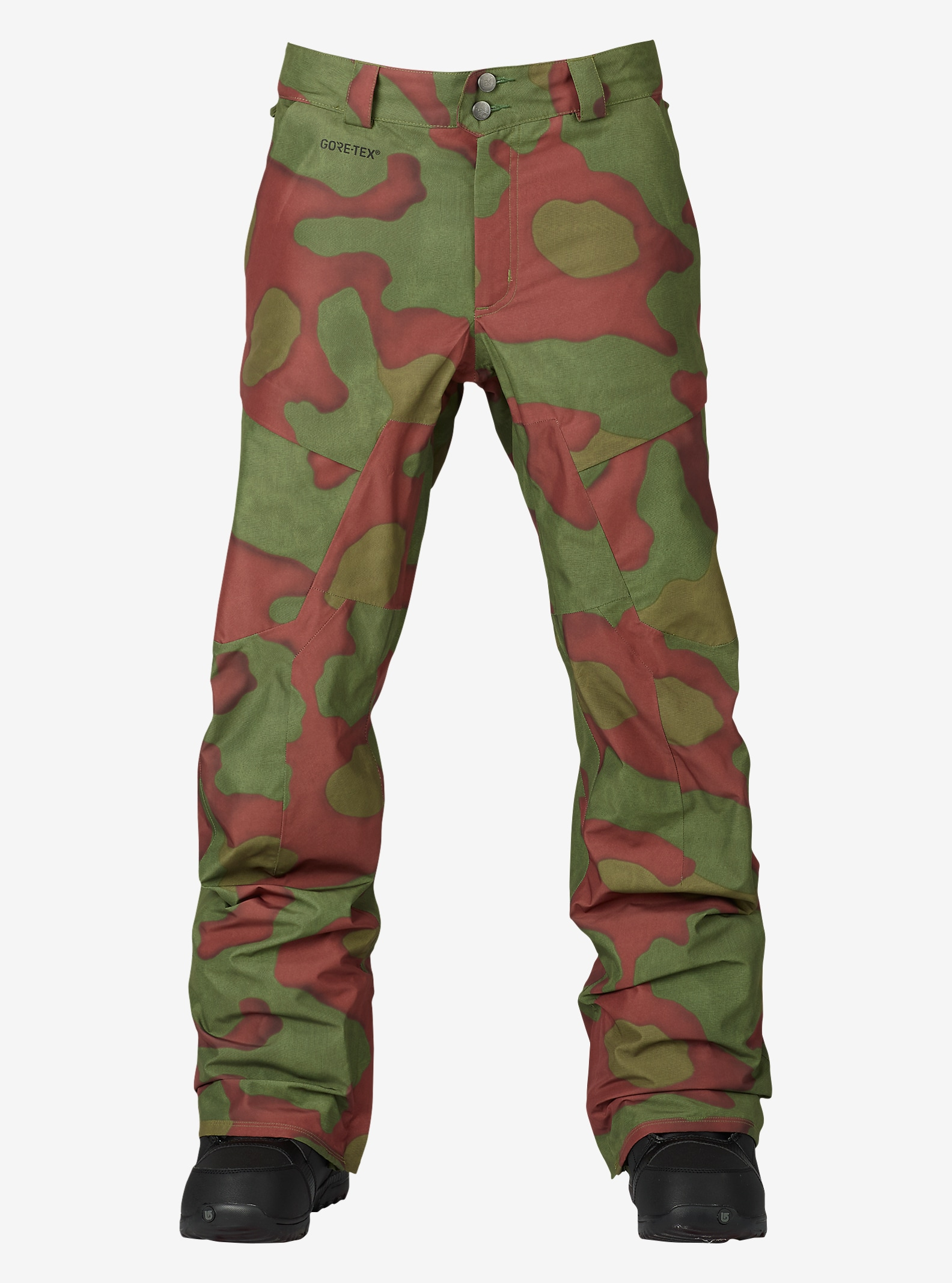 Burton [ak] 2L Swash Pant shown in Hombre Camo