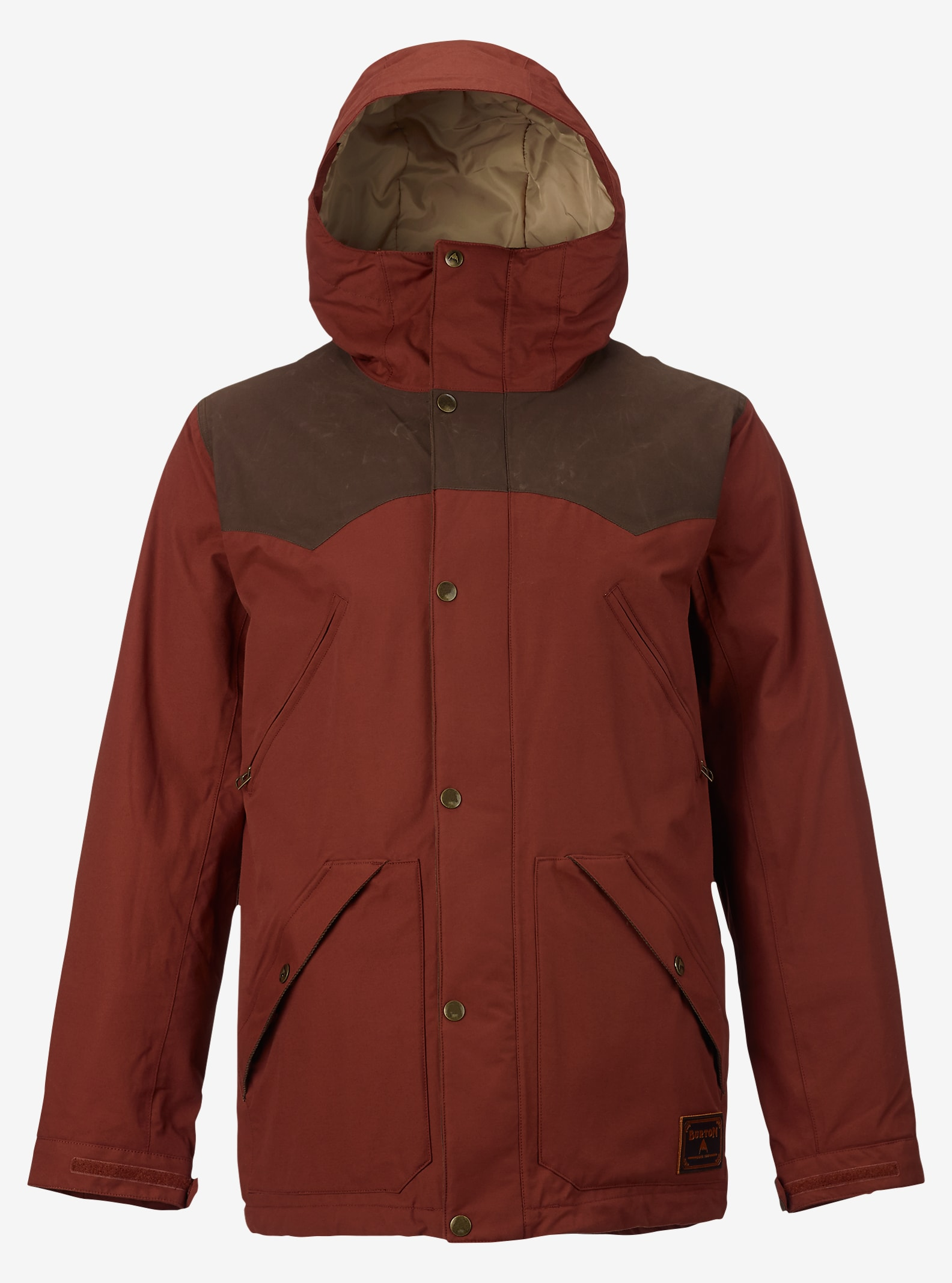 Burton Folsom Jacket shown in Matador / Mocha Wax