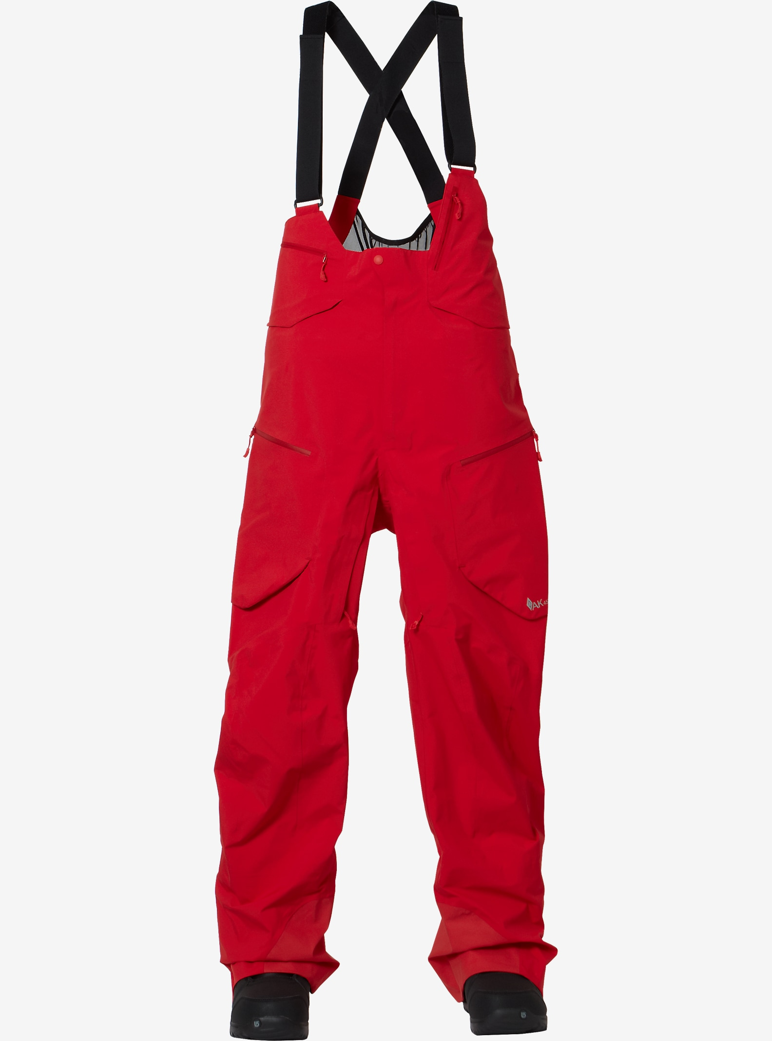 Burton AK457 Hi-Top Pant shown in Red