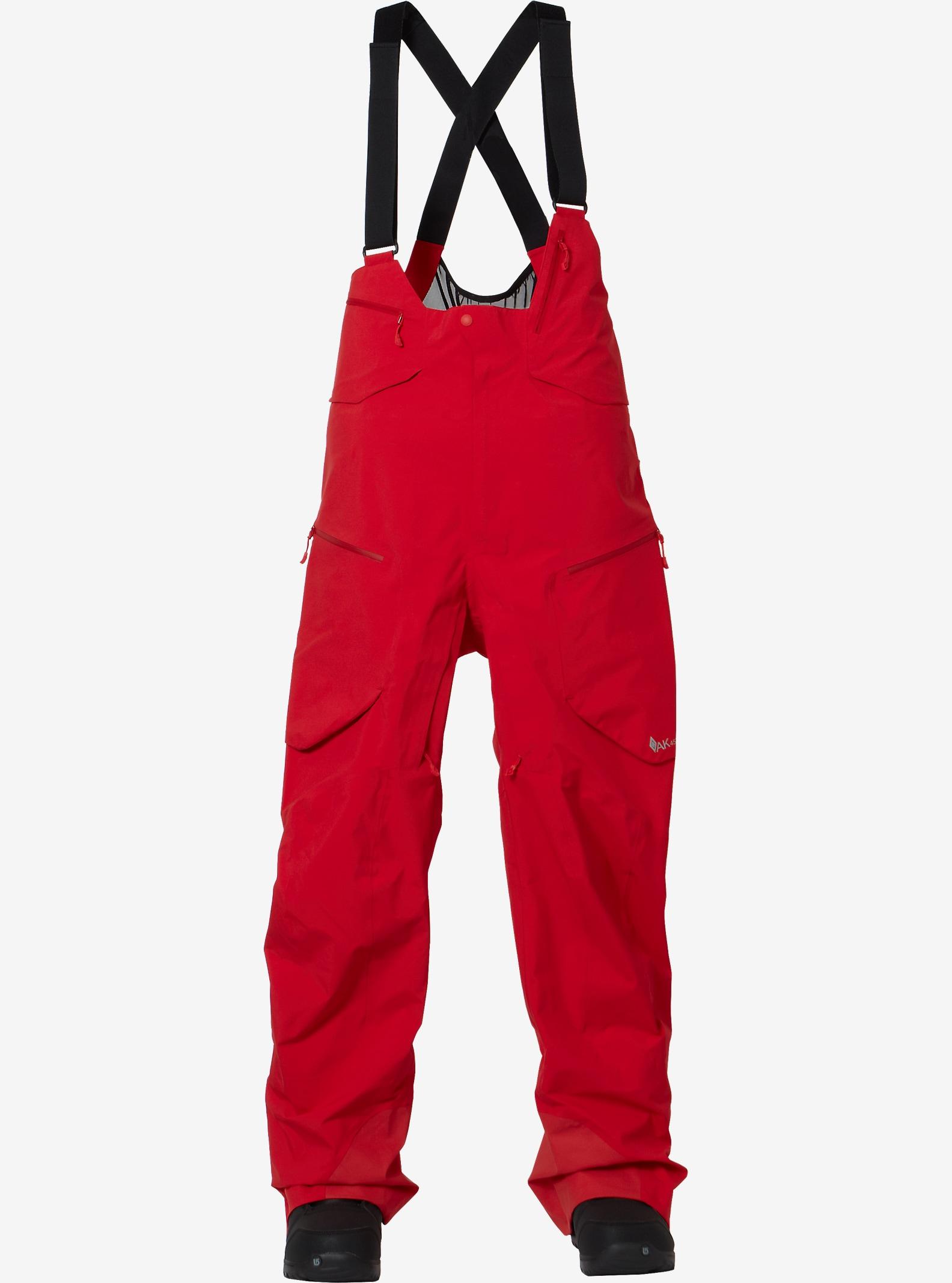 Burton AK457 Hi-Top Pant shown in Red