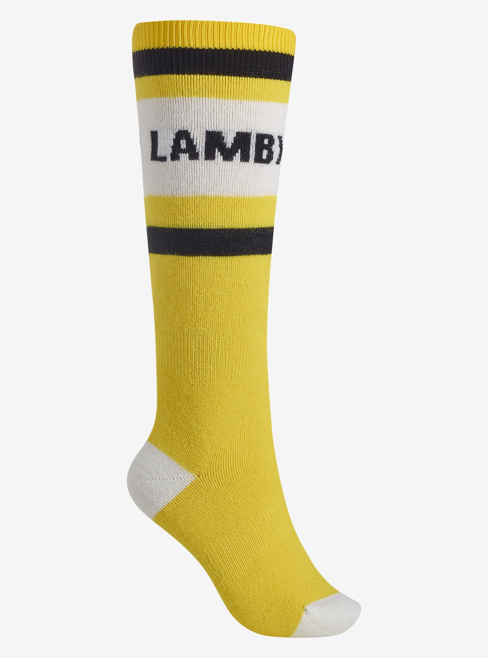 L.A.M.B. x Burton Party Sock shown in L.A.M.B.