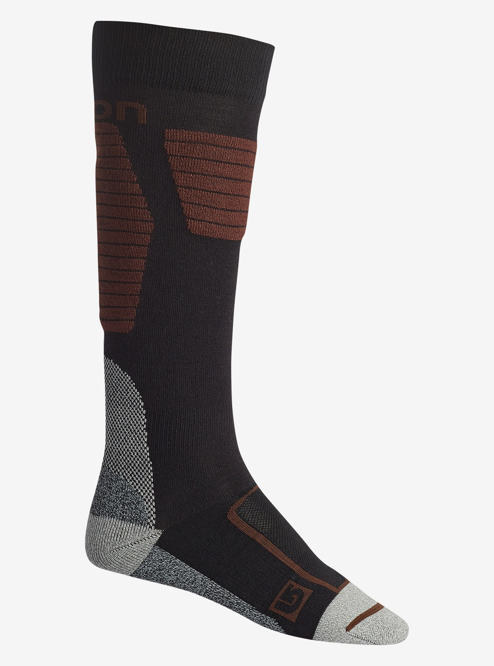 Burton Ultralight Wool Sock shown in True Black