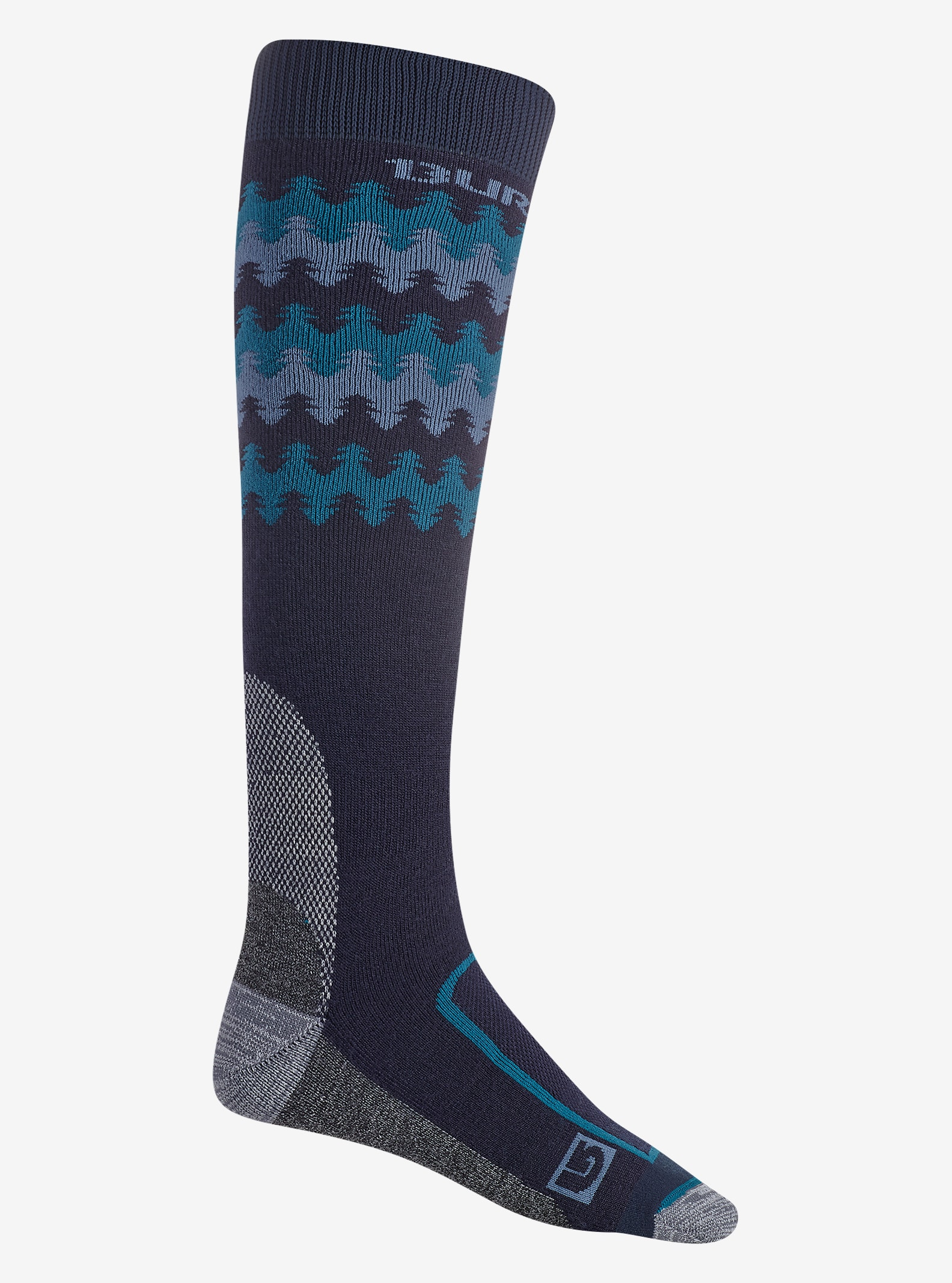 Burton Buffer II Sock shown in Eclipse