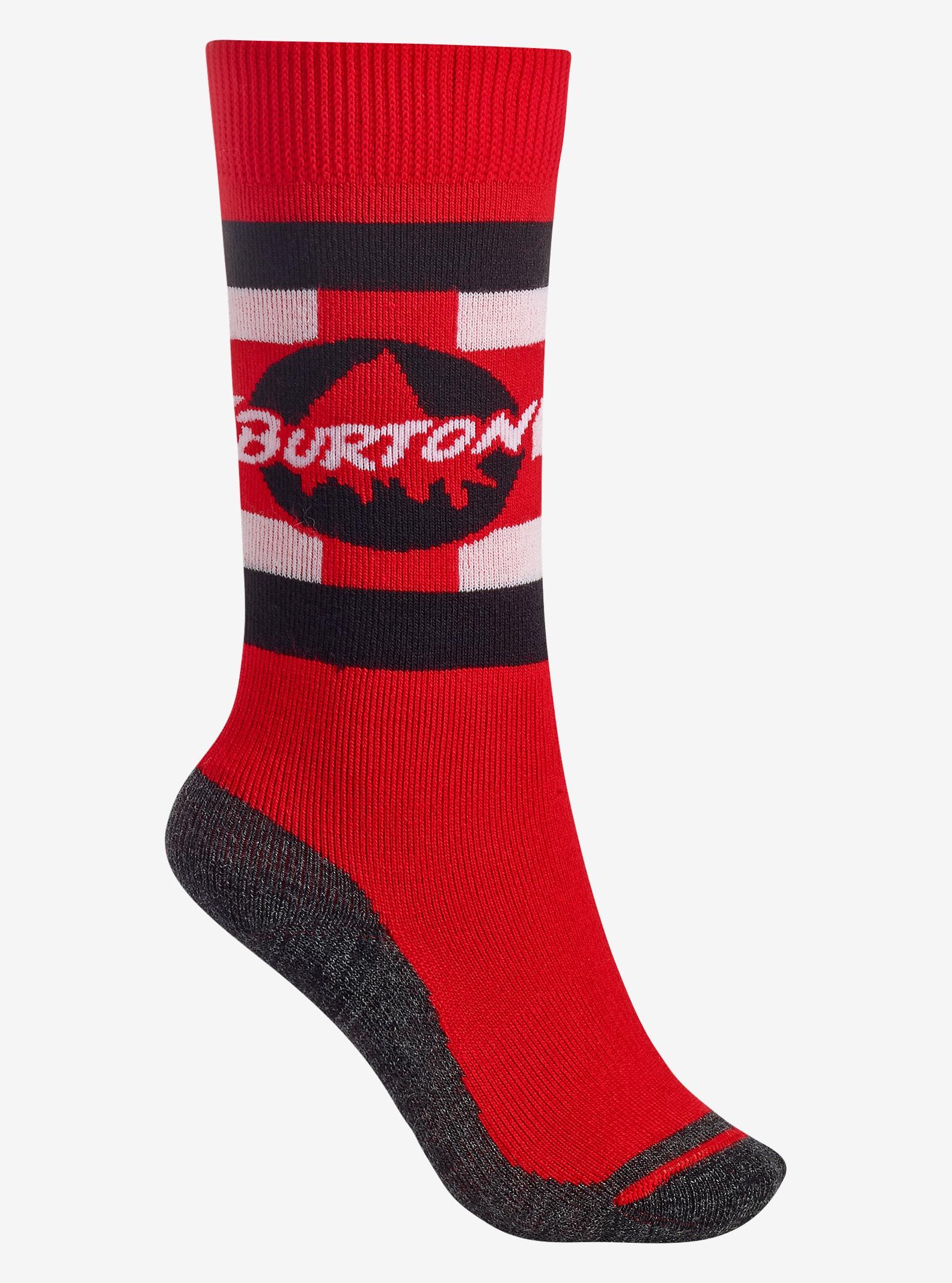 Burton - Chaussettes Emblem pour garçon affichage en Process Red