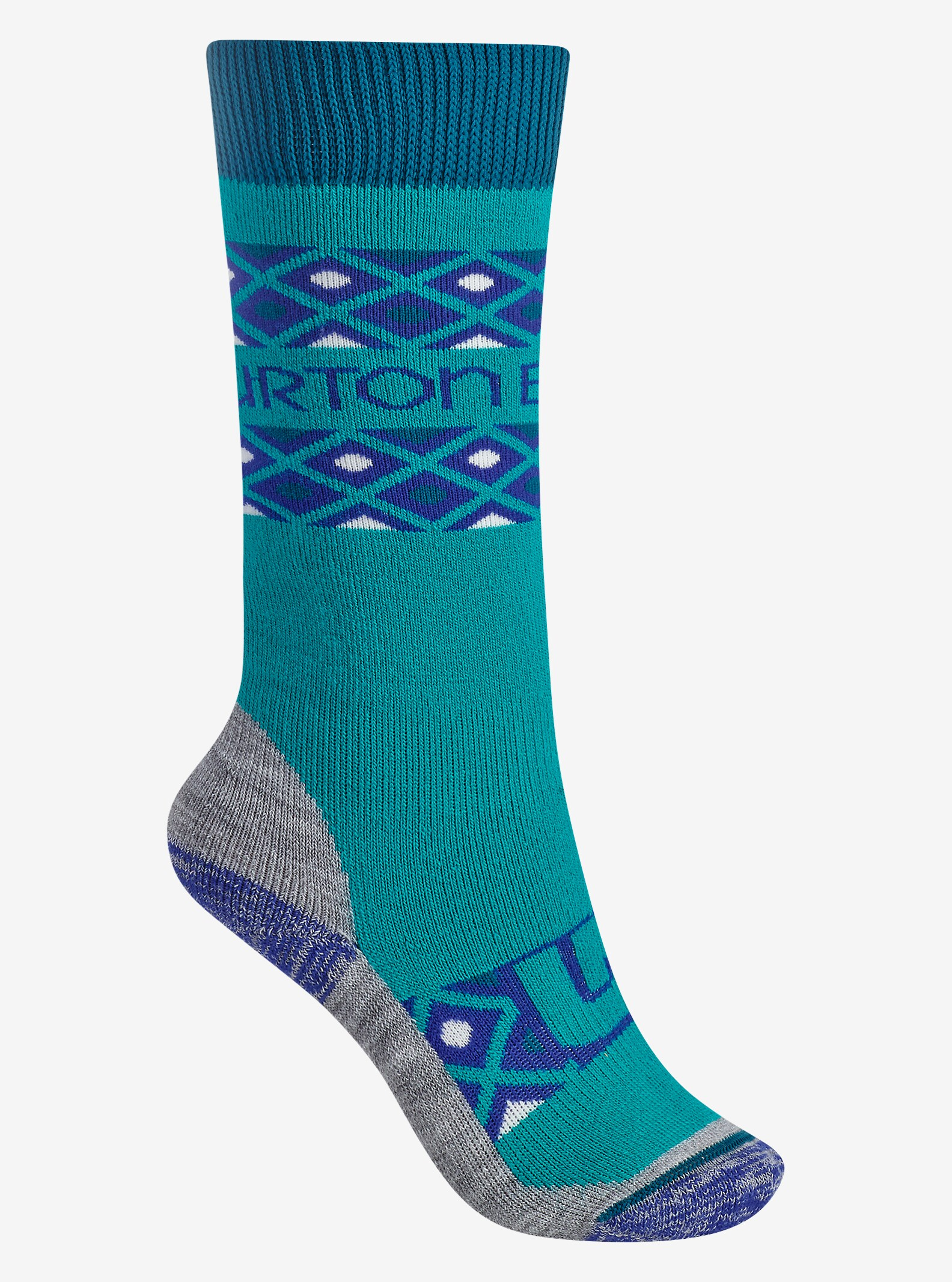 Burton Girls' Scout Sock shown in Everglade