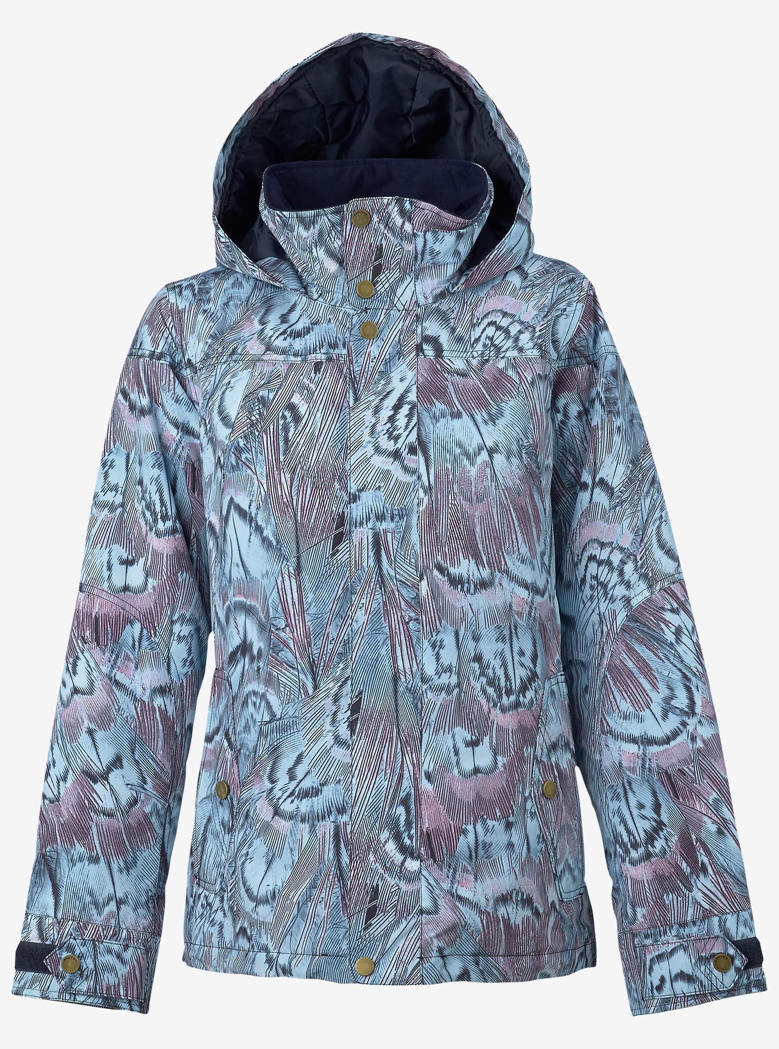 Burton Jet Set Jacket shown in Feathers