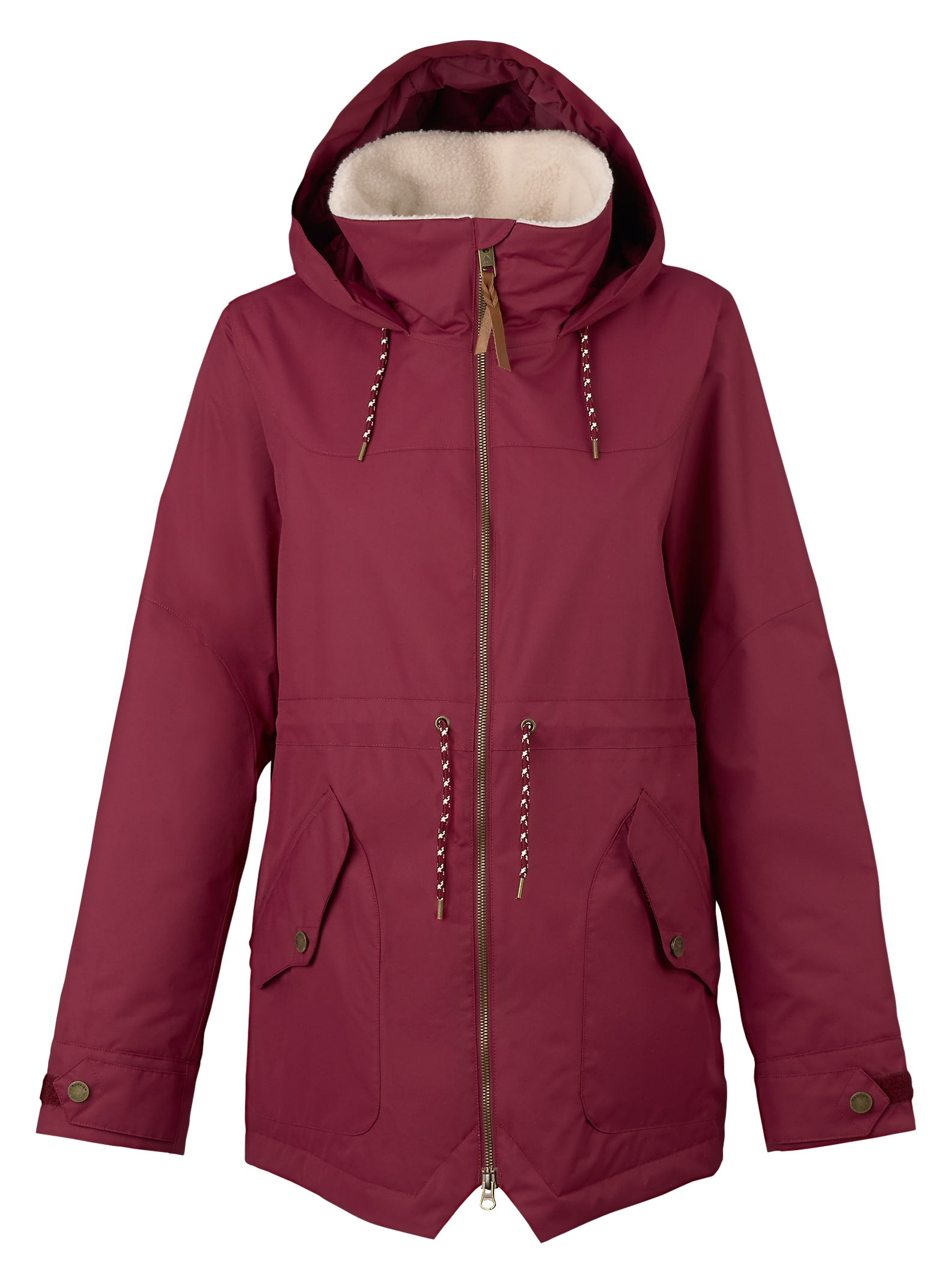 Burton Prowess Jacke angezeigt in Sangria