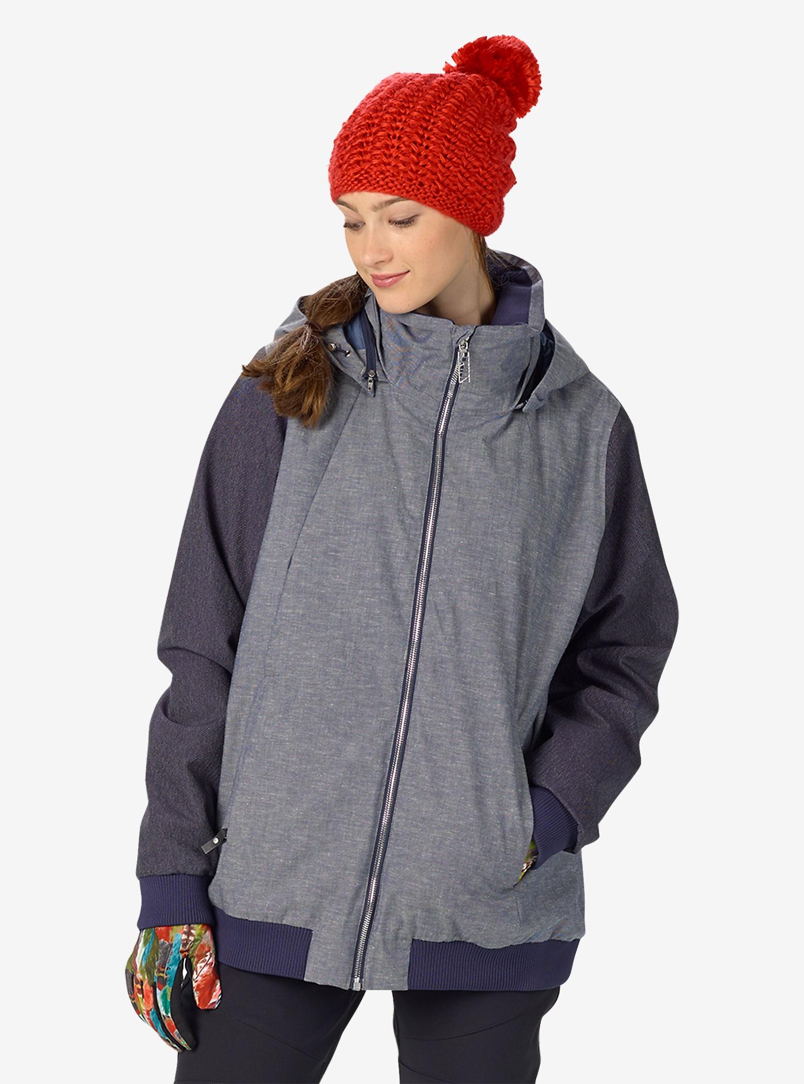 Burton Stella Jacket shown in Chambray / Denim
