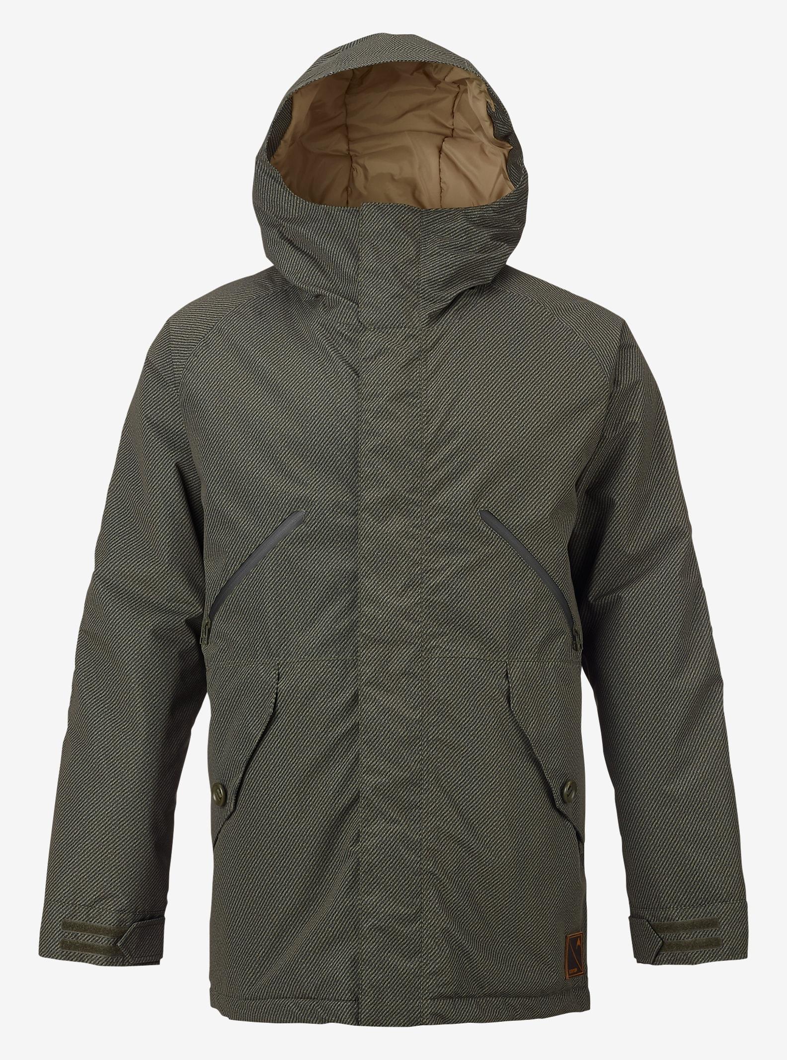 Burton Breach Jacket shown in Undrpass Twill Keef / Kelp