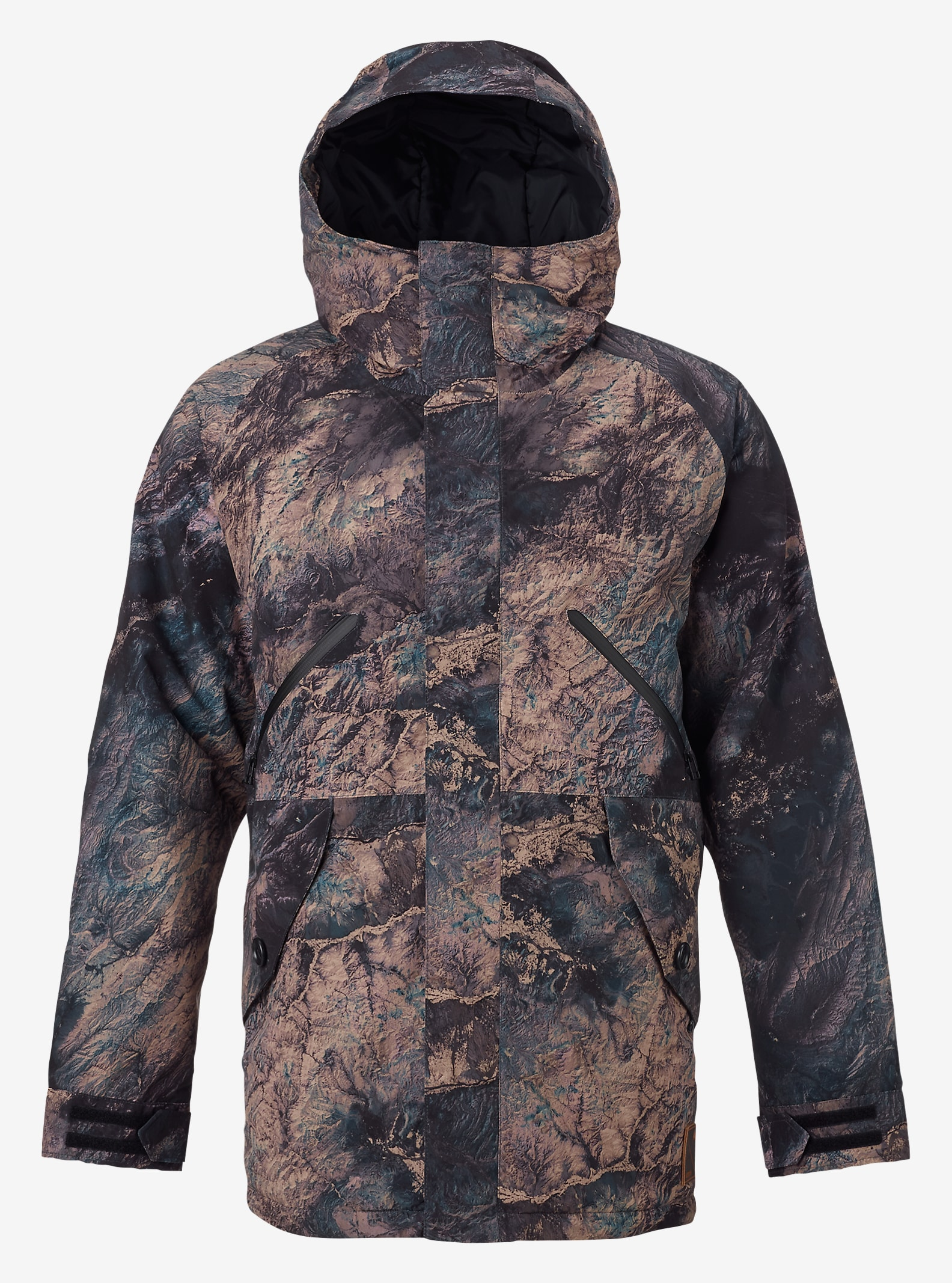 Burton Breach Jacket shown in Earth