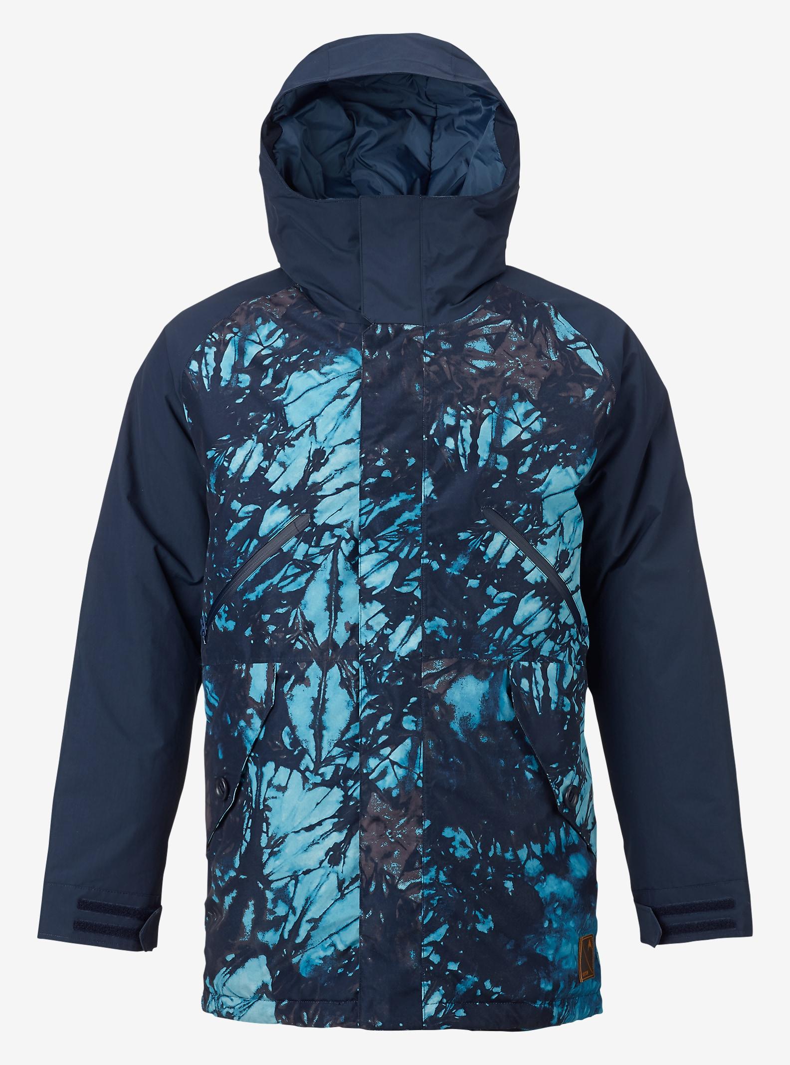 Burton Breach Jacket shown in Eclipse Tie Dye Trench / Eclipse