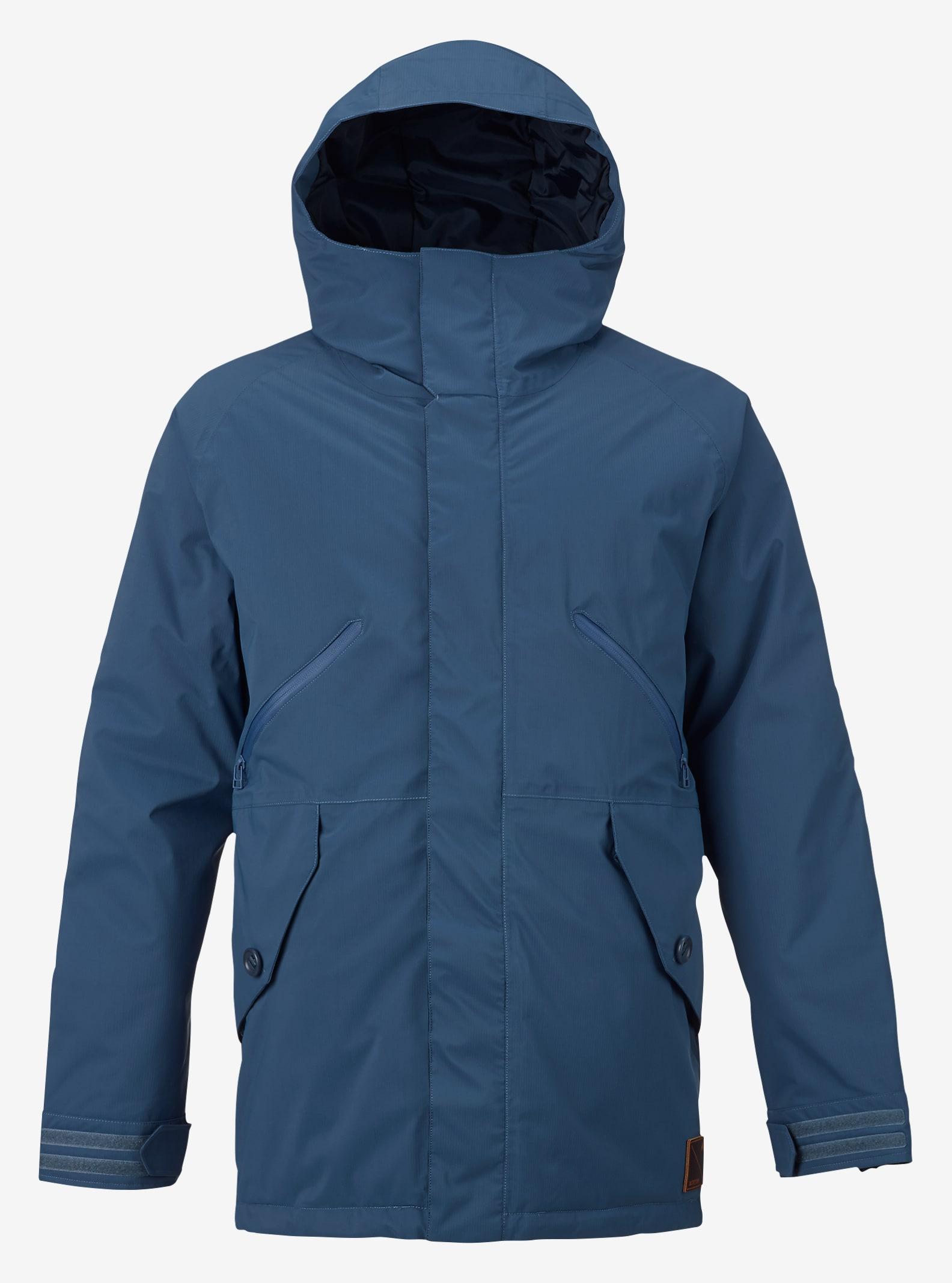Burton Breach Jacket shown in Washed Blue / Larkspur