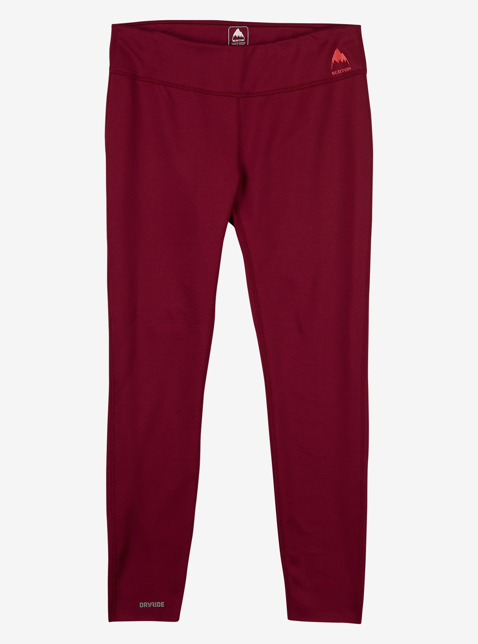 Burton Women's Expedition Base Layer Pant shown in Sangria