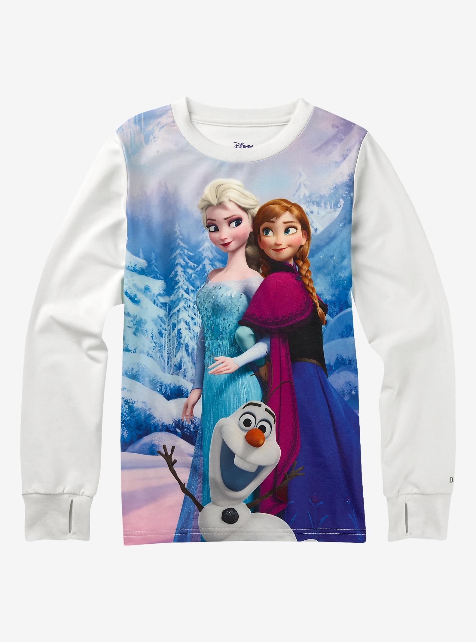 Frozen de Disney - T-shirt tech pour enfant affichage en La reine des neiges © Disney