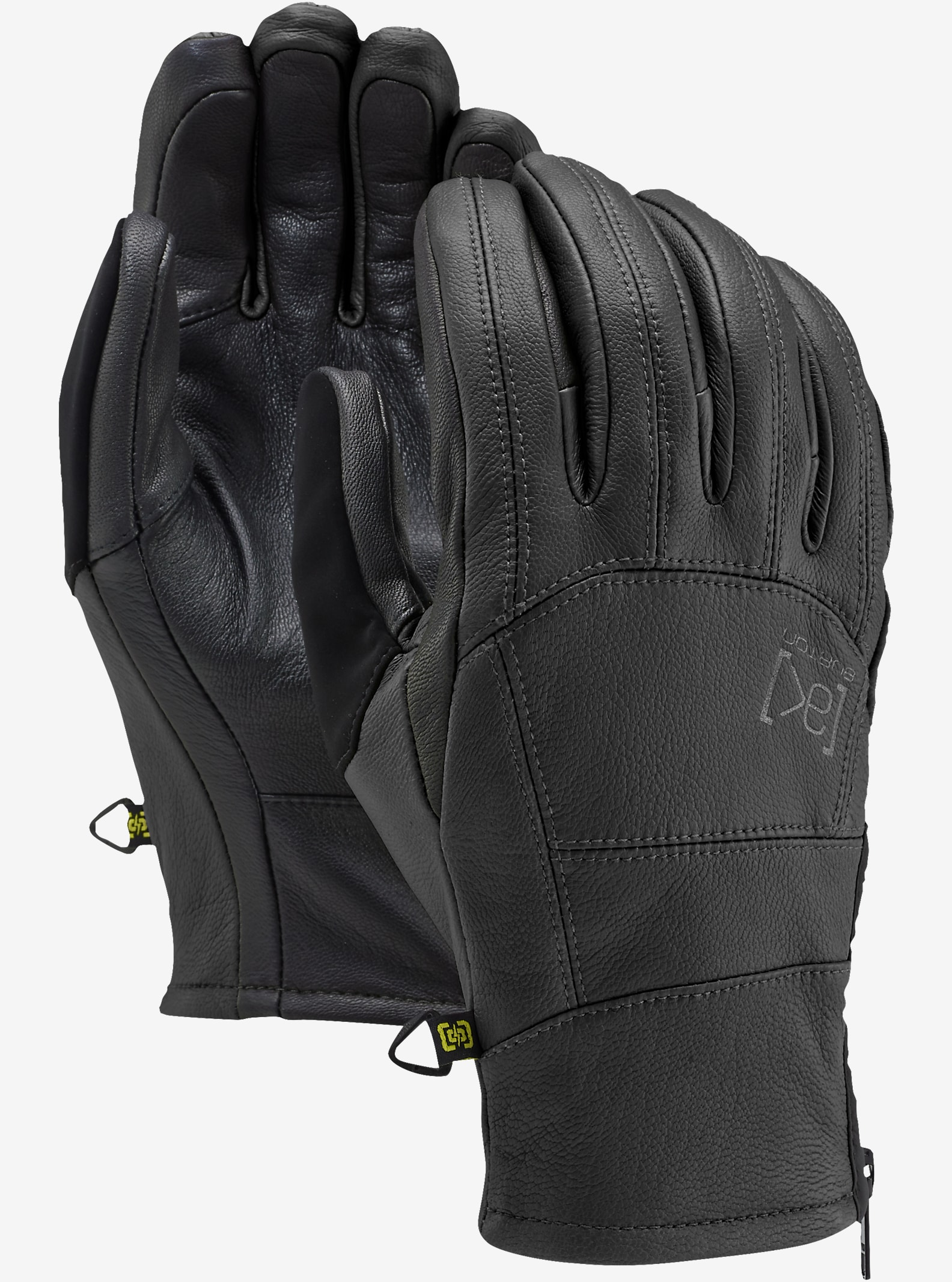 Mens winter gloves xxl - Burton Ak Leather Tech Glove Shown In True Black