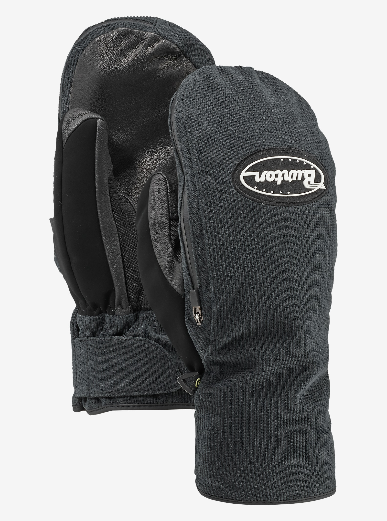 Burton Hi-Five Mitt shown in True Black Cord