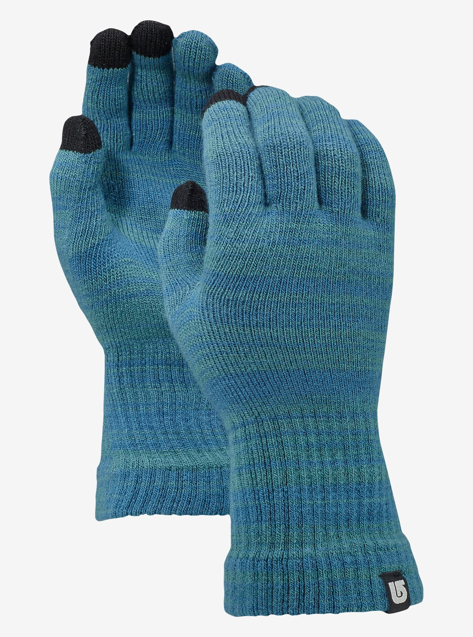 Burton Touch N Go Knit Glove shown in Tundra / Jaded Marl