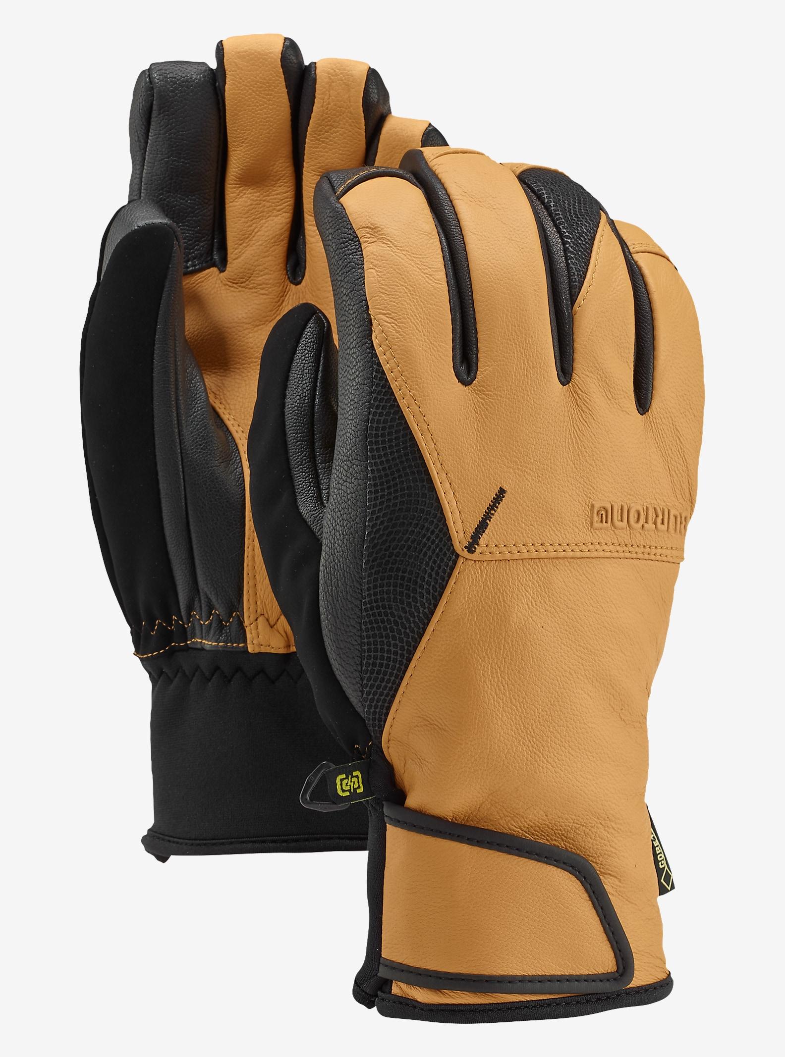 Burton Gondy GORE-TEX® Handschuhe aus Leder angezeigt in Raw Hide