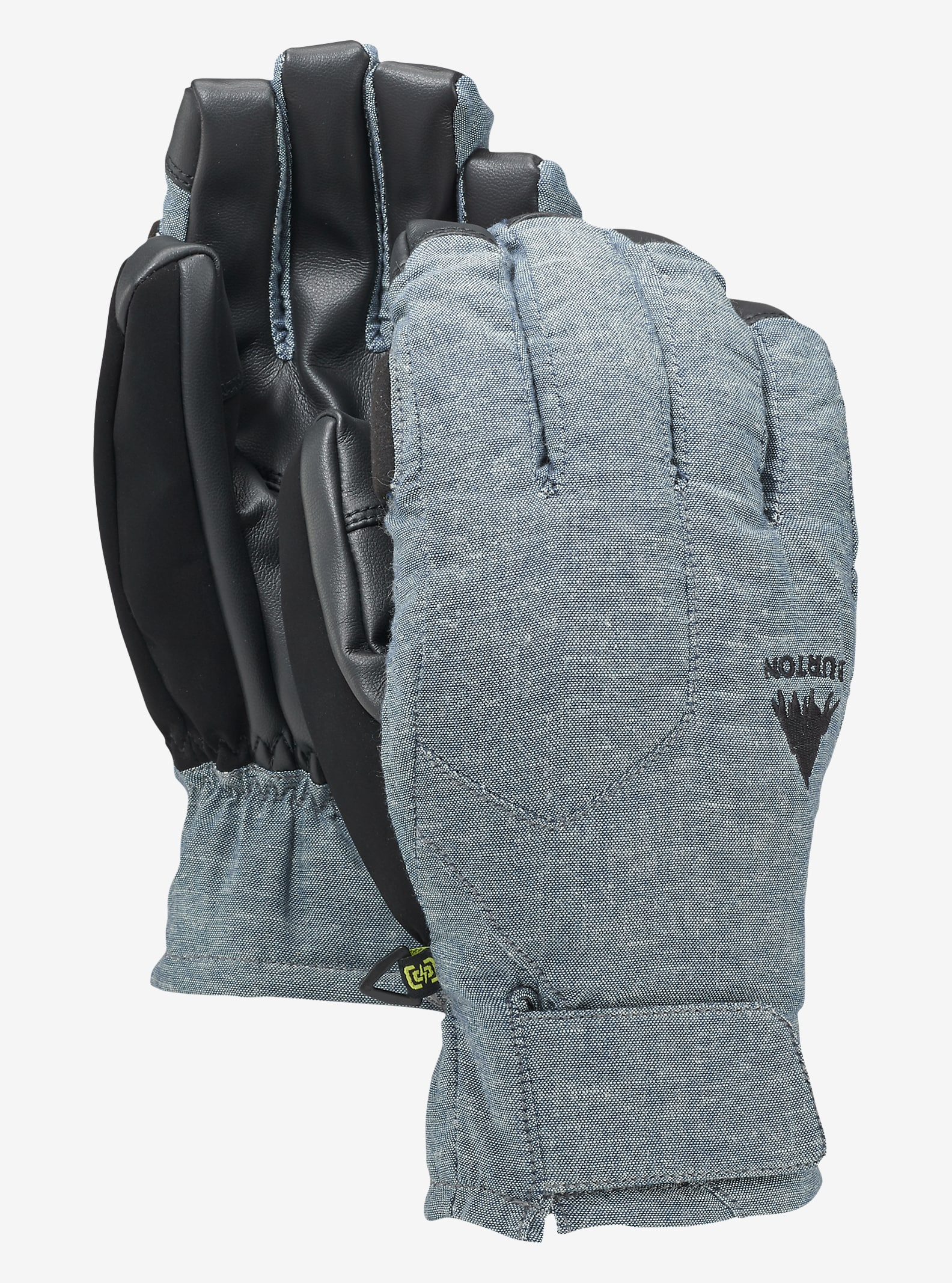 Burton Pyro Under Glove shown in Chambray