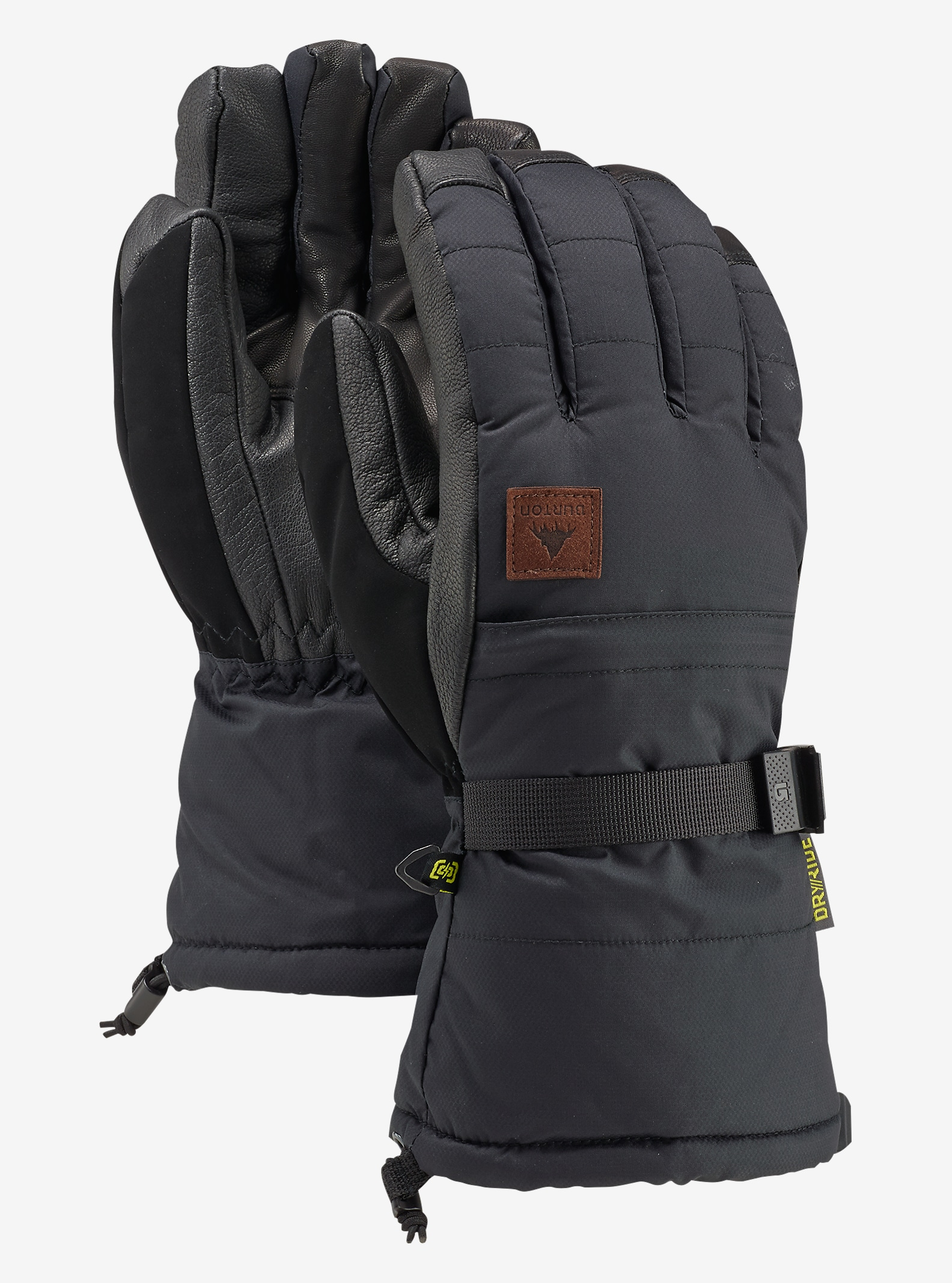 Burton Warmest Glove shown in True Black
