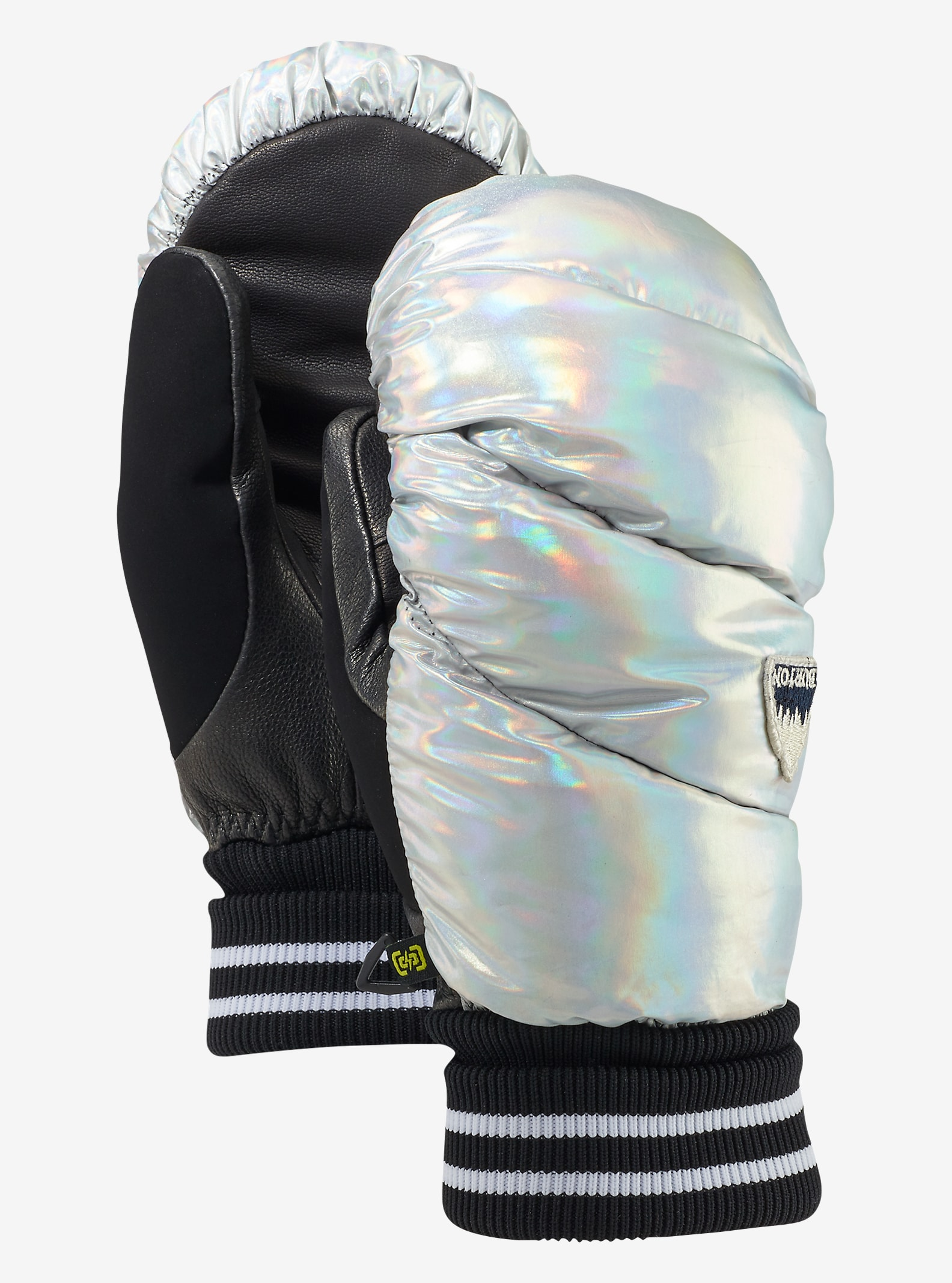Burton Women's Warmest Mitt shown in Iridescent